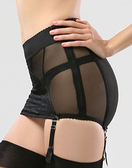 Black-mesh-girdle