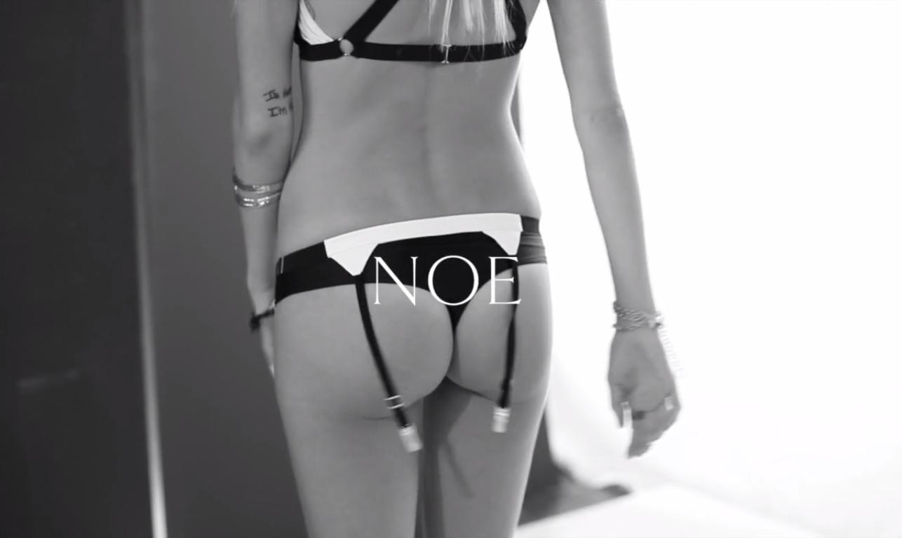 NOE Undergarments video видео нижнее белье lingerie