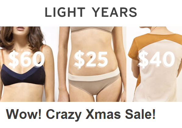 light years xmas sale