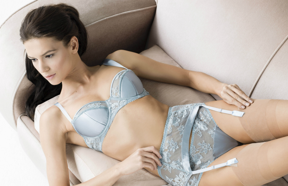Fleur of England Esme padded balcony suspender and thong_edit