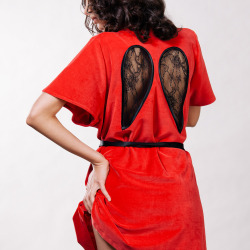 Diana Wings Wrap – Red, €159