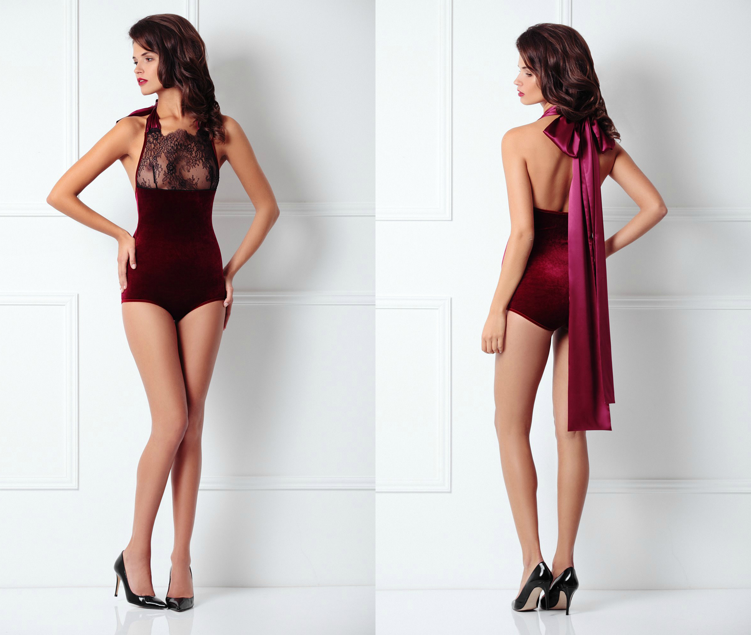 amoralle-aw14-lace-top-velvet-body