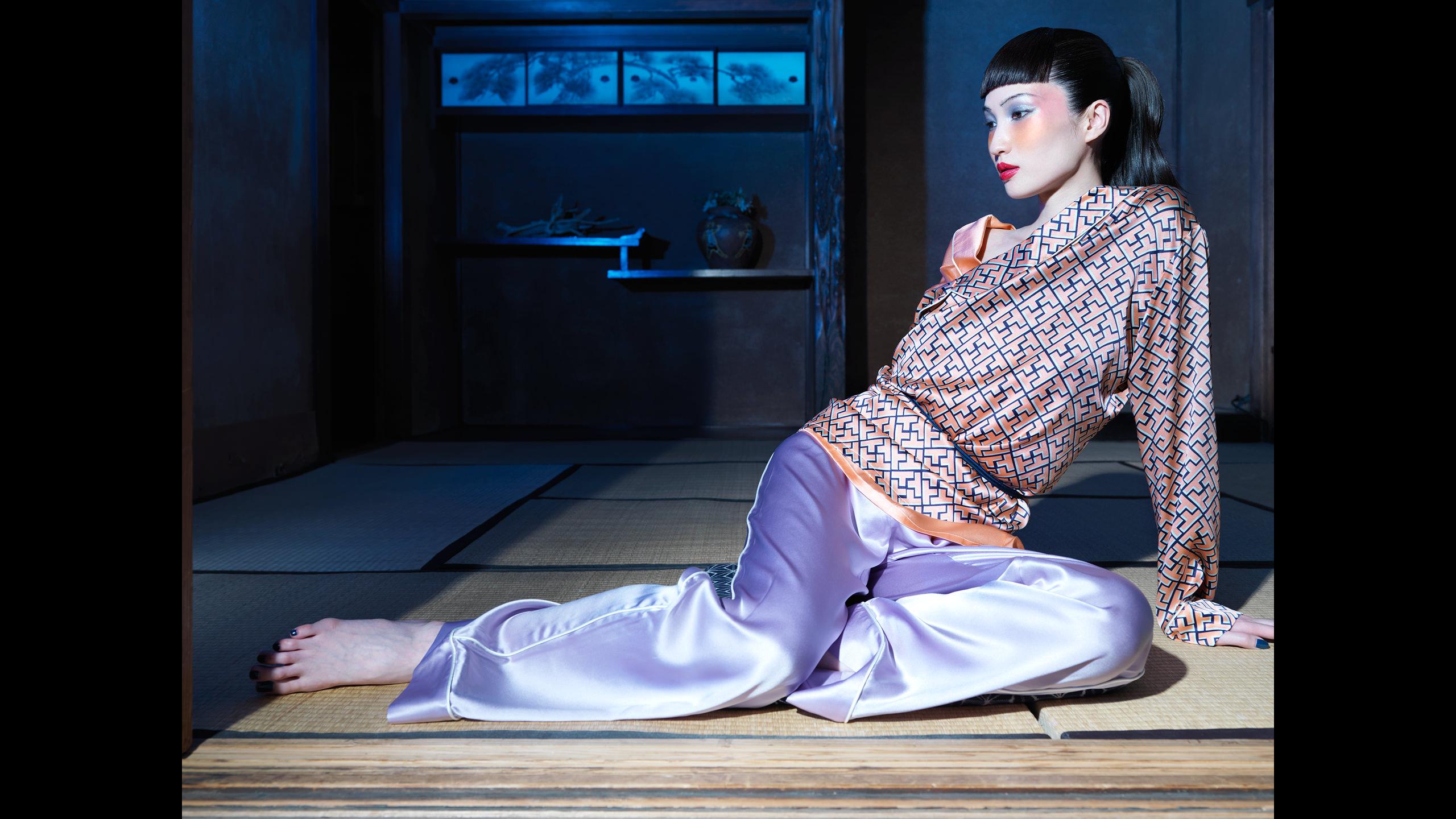 пижамы Olivia von Halle, коллекция Tokio, сезон ss15