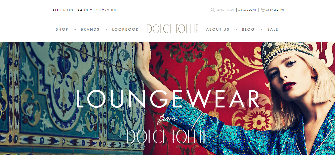 Dolci Follie Luxury Lingerie Boutique London   dolcifollie.co.uk