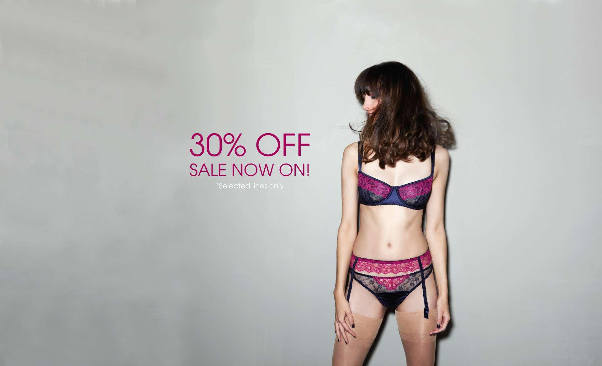 Fleur of England 30% lingerie sale