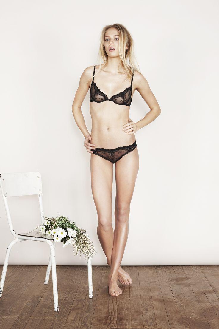 yse lingerie  L'Amant Noir нижнеебелье