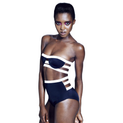 Chromat Bouloux Bikini, top 149 USD, bottom 115 USD