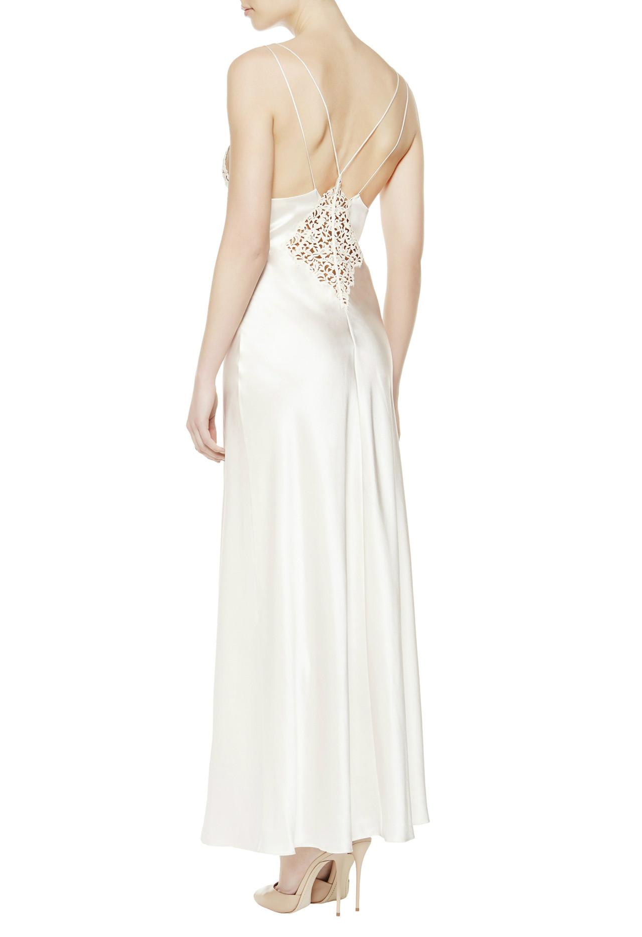 La Perla Petit Macrame long dress lingerie нижнее белье платье