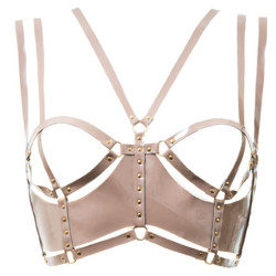 DSTM, Patent leather half cup bra, 225 € instead 450 €
