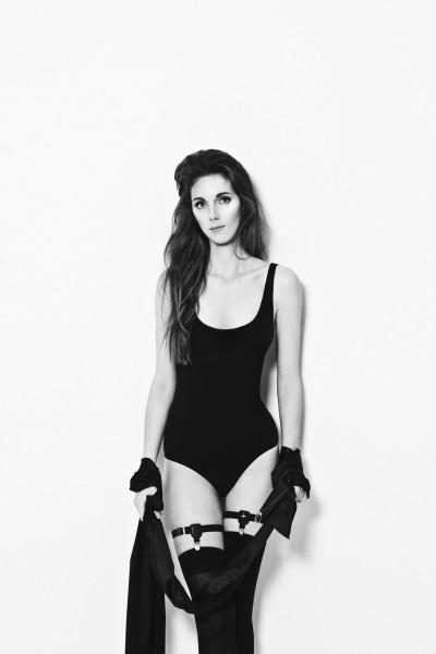 Tanya Koycheva for Garterblog lingerie model нижнее белье