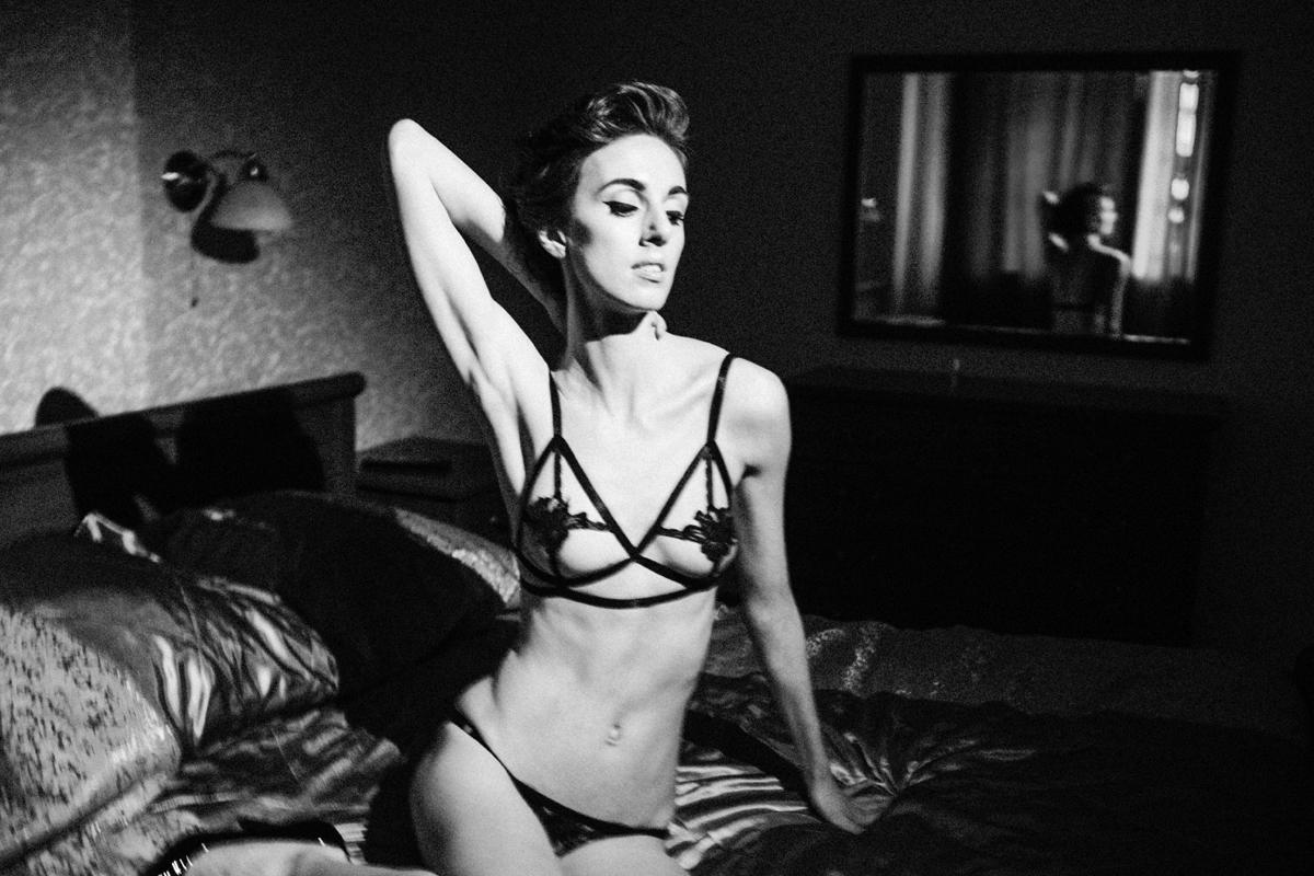 Обзор комплекта нижнего белья Anastasia от La-Nikka lingerie review Garterblog