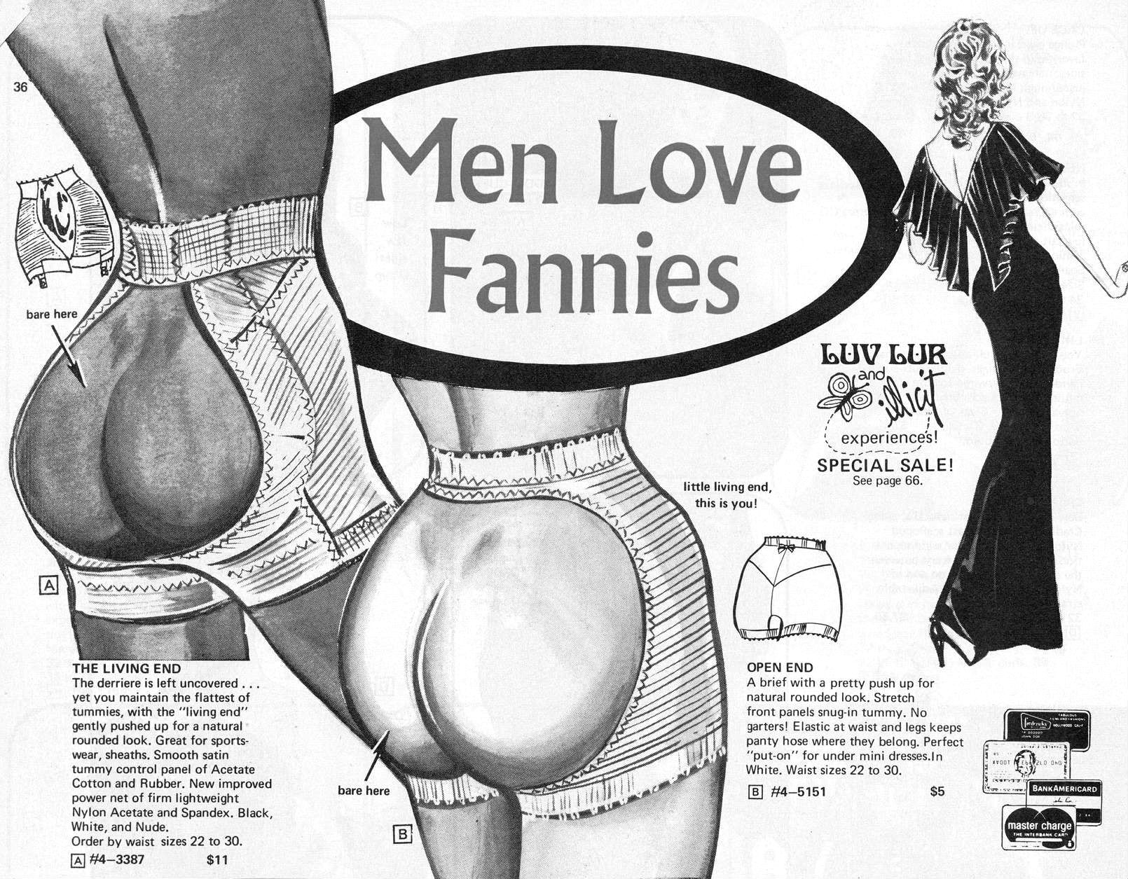 frederick's of holliwood vintage ad винтажная реклама нижнего белья