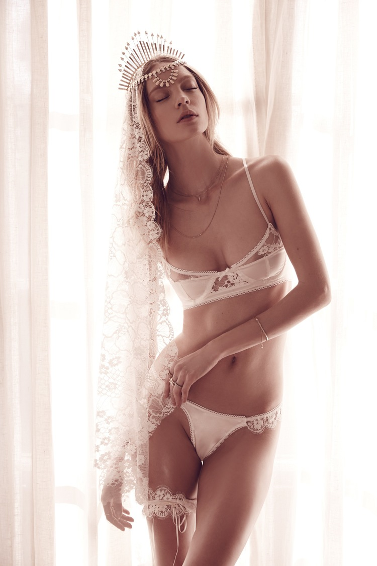 For Love and Lemons Skivvies bridal 2015