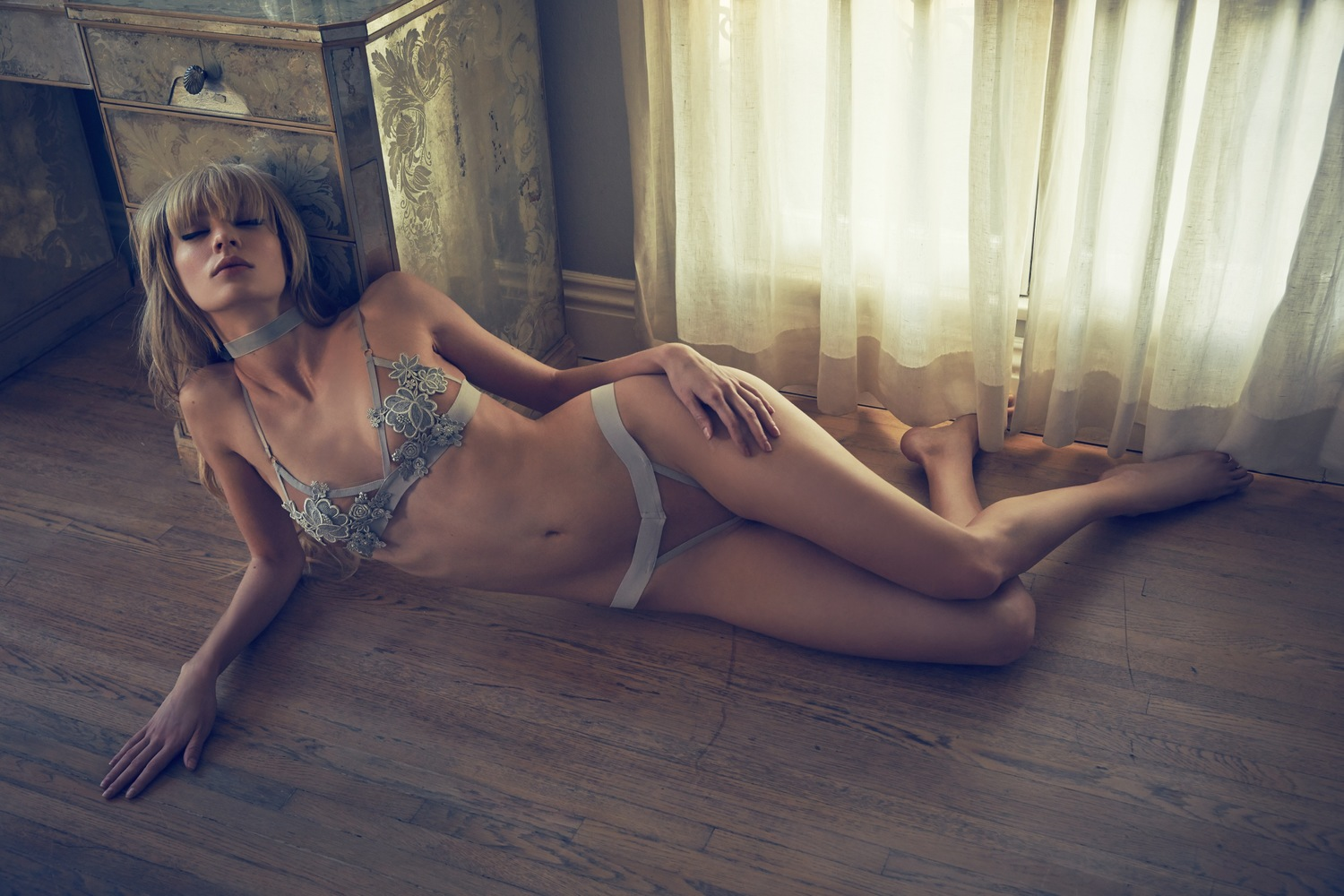 For Love & Lemons Skivvies Dream Girl ss 2015 lingerie нижнее белье