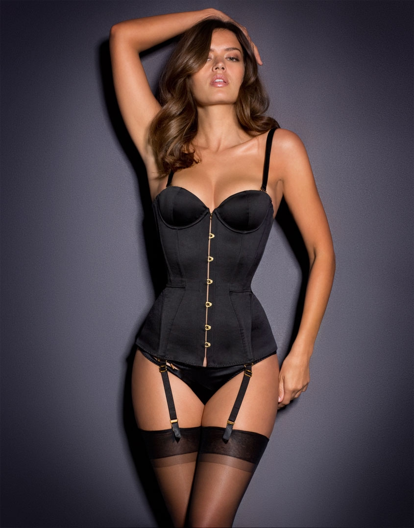 Корсет Mercy Satin Corset by Agent Provocateur