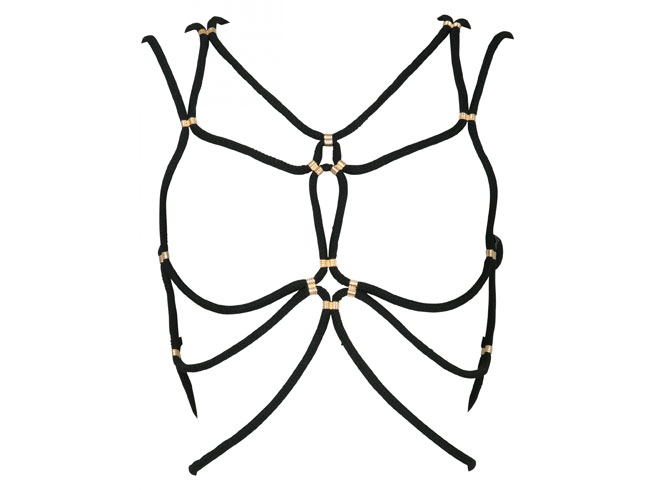Black Shibari harness by DSTM, €390