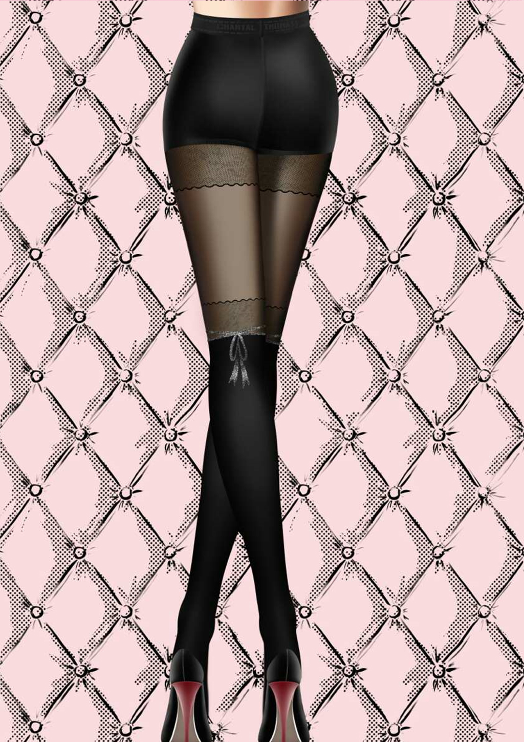 Chantal Thomass Buckingham Palace Tights