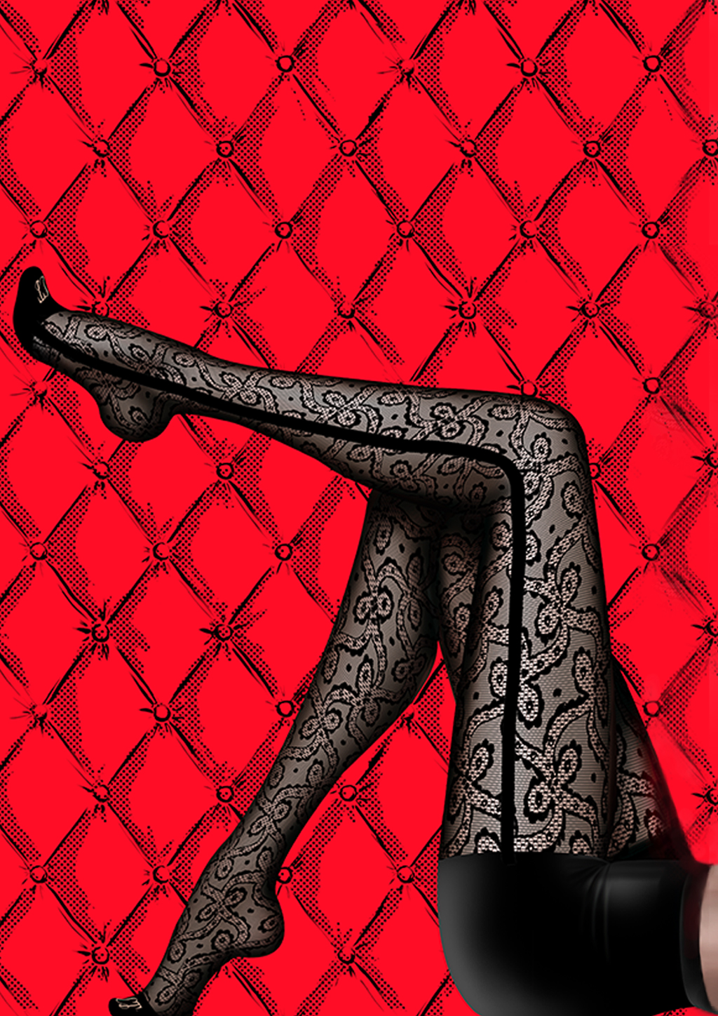 Chantal Thomass Smoking Lace Tights