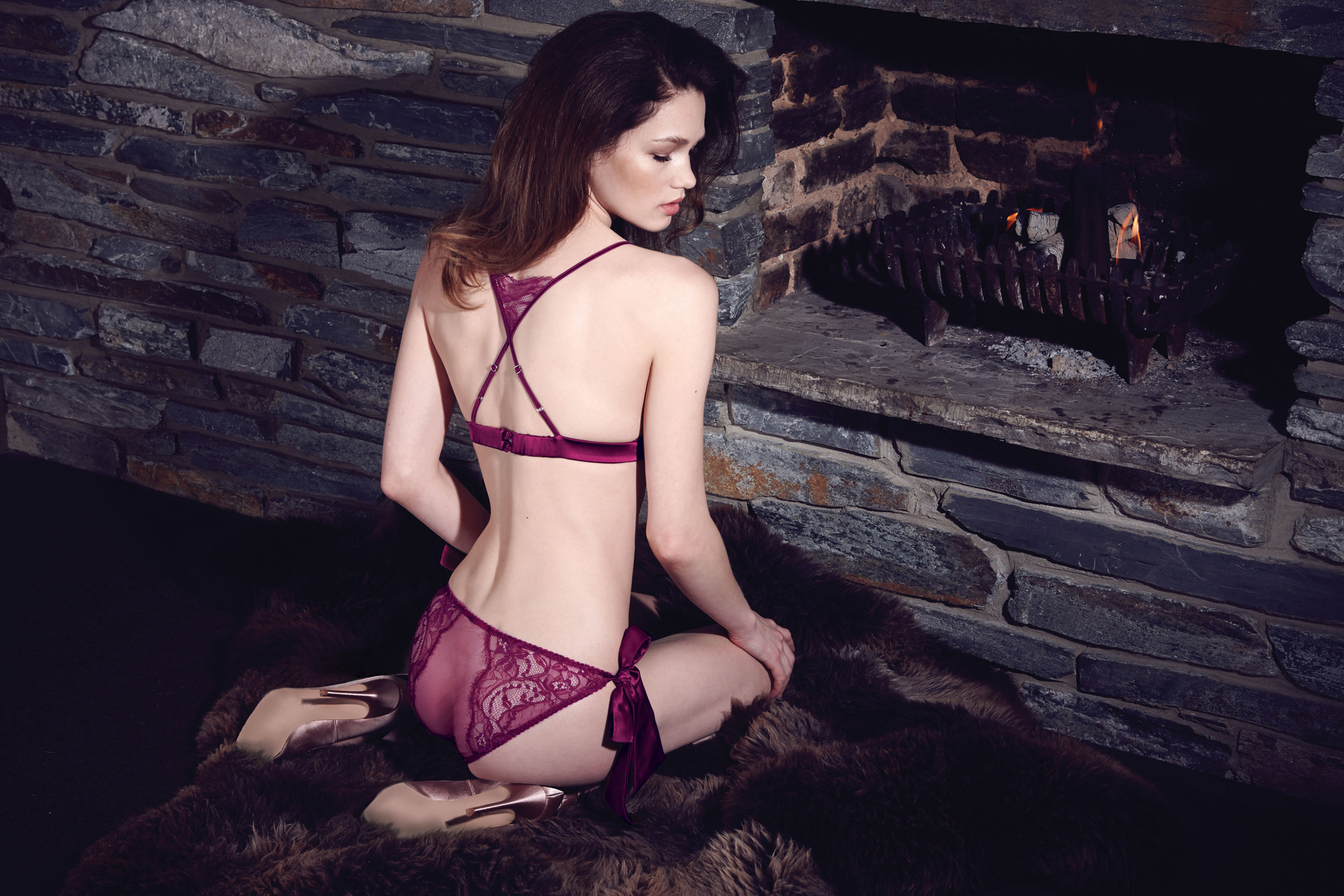 Fleur of England, AW15, Aurora lingerie collection