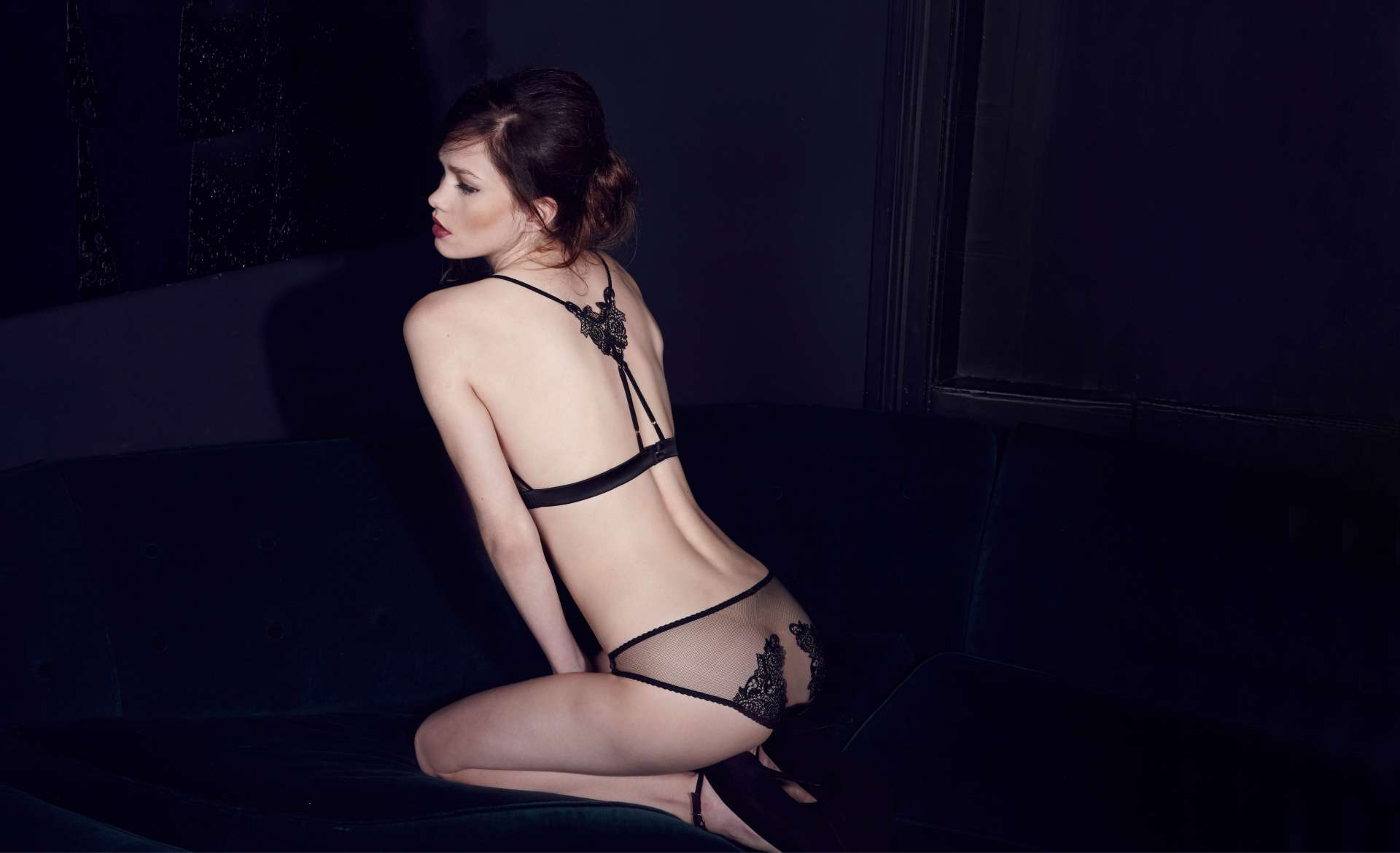 Fleur of England, AW15, After Dark lingerie collection