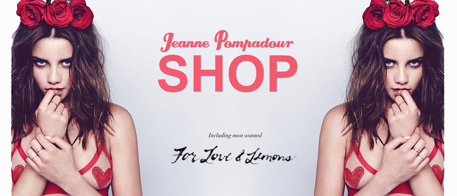 Jeanne Pompadour lingerie sales