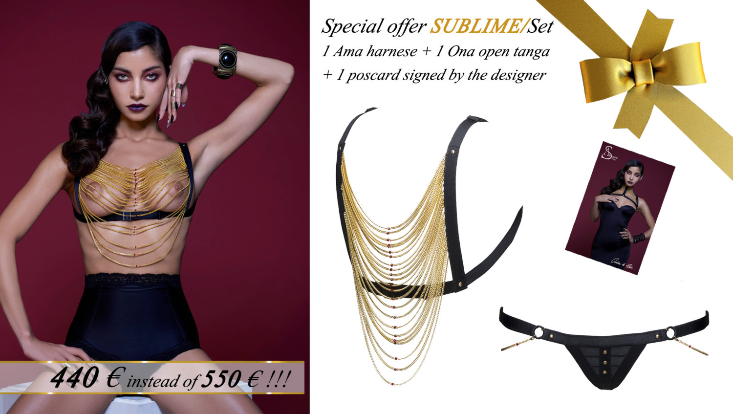 Sublime set €440 вместо €550