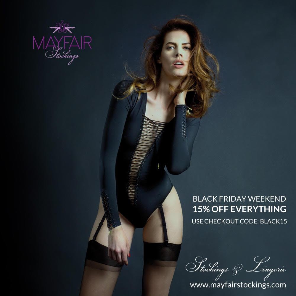 Mayfair Stockings and MayfairLegs black friday sales