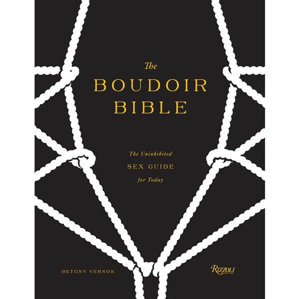 Книга Бетони Вернон «Будуарная библия», магазин Lascivious, цена: £19.95 (около 2010 руб.)