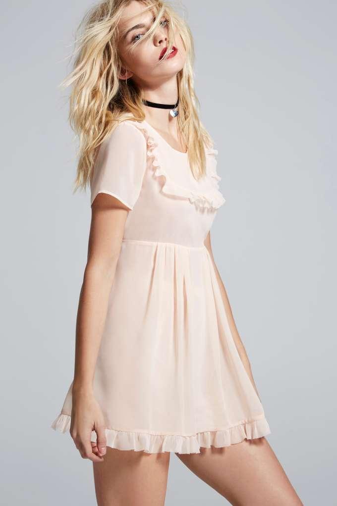 Нежный бейбидолл Best Sunday можно носить как летнее платье, а можно, как соблазнительный ролевой костюм дома. Выбор за вами