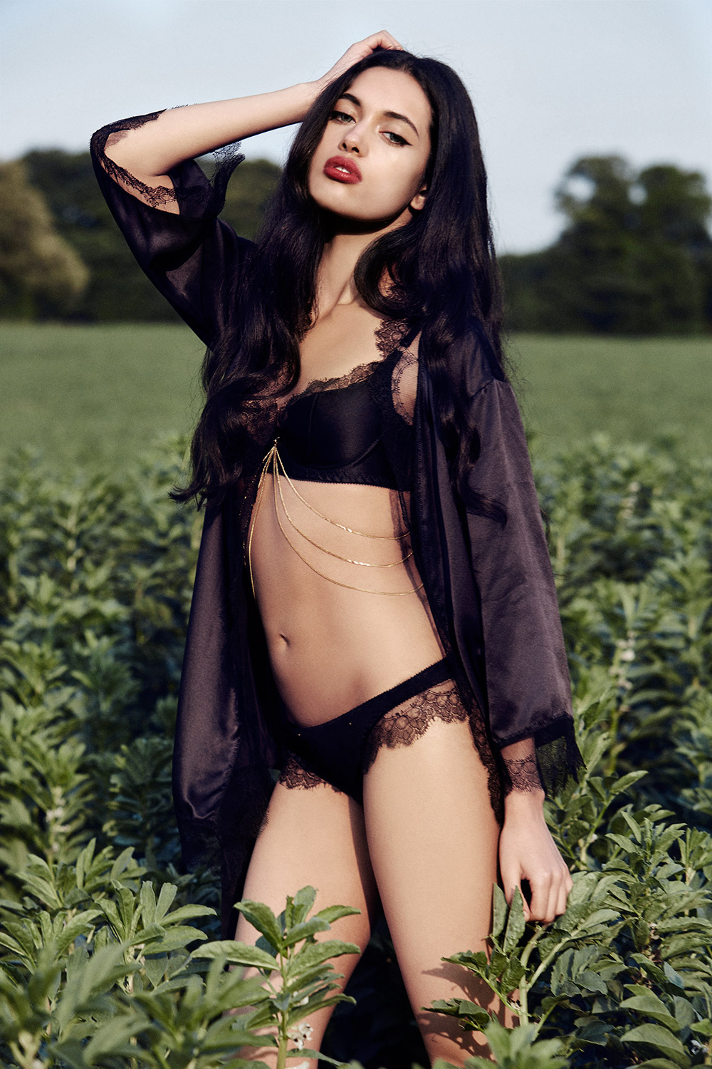 Edge O' Beyond SS16 lingerie collection Karis