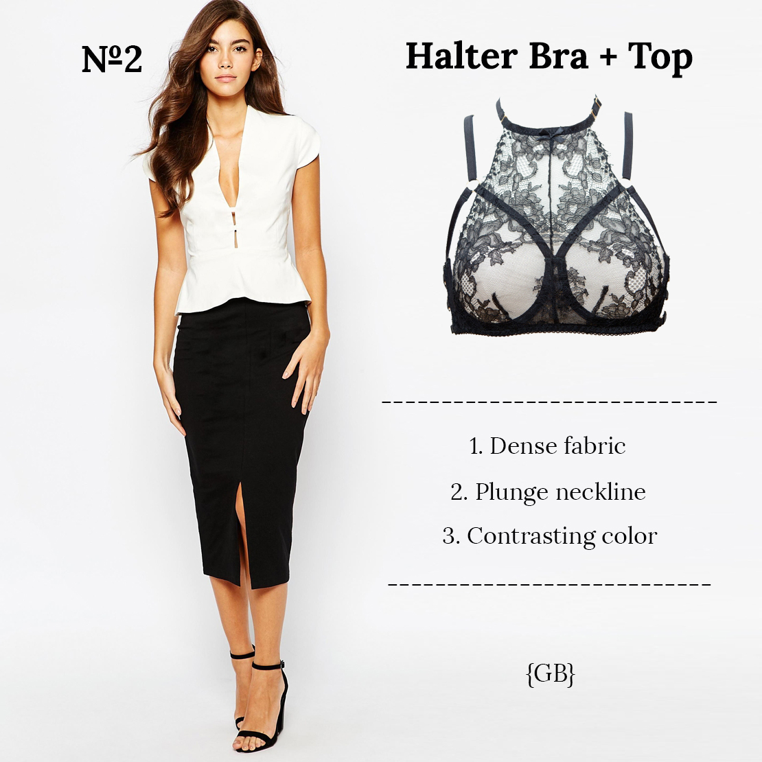 Style Guide: High Neck Halter Bra in Your Outfit