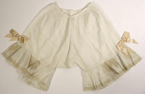 Закрытые панталоны, около 1910 годов, Метропόлитен-музей