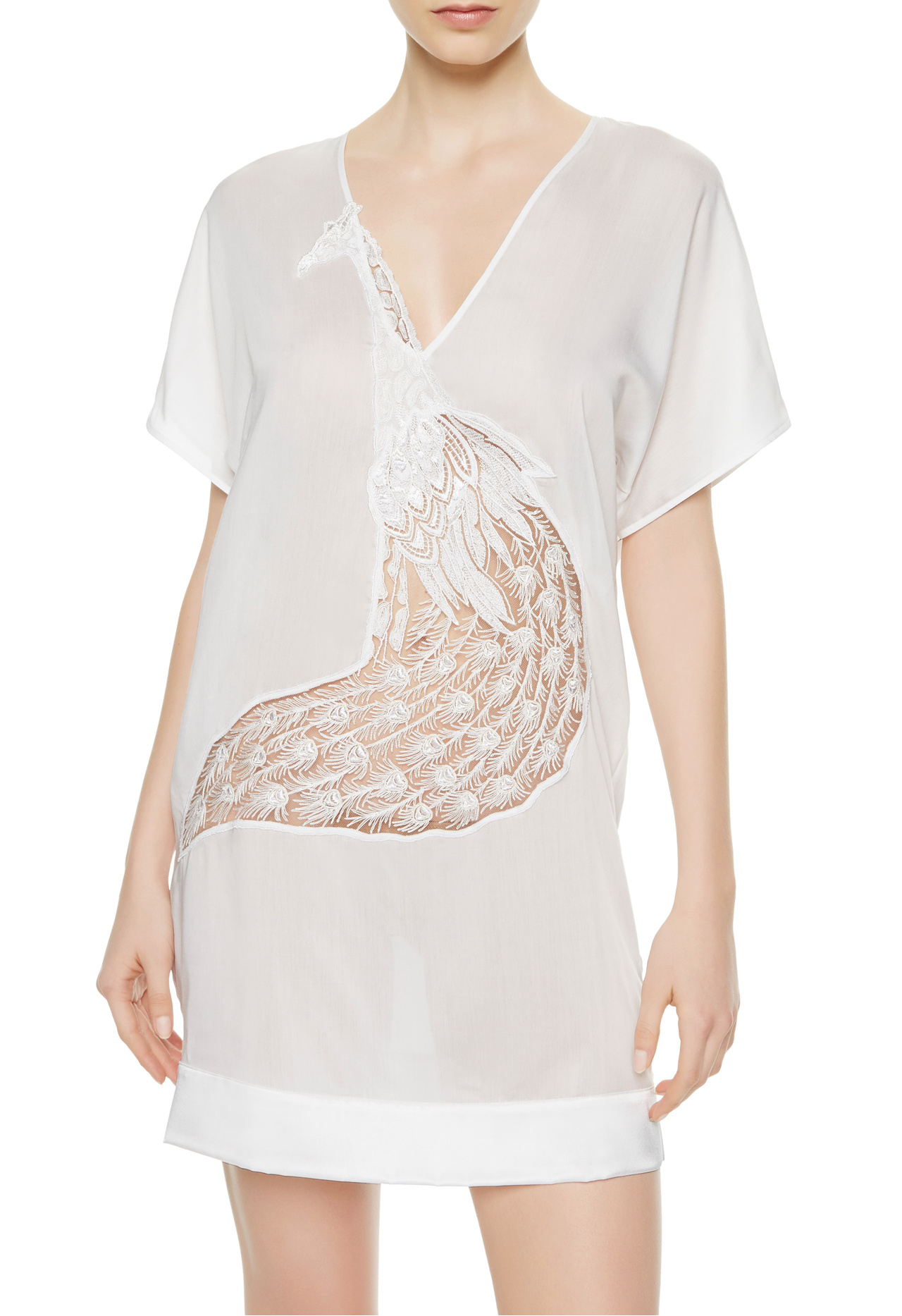 La Perla Edenic tunic top