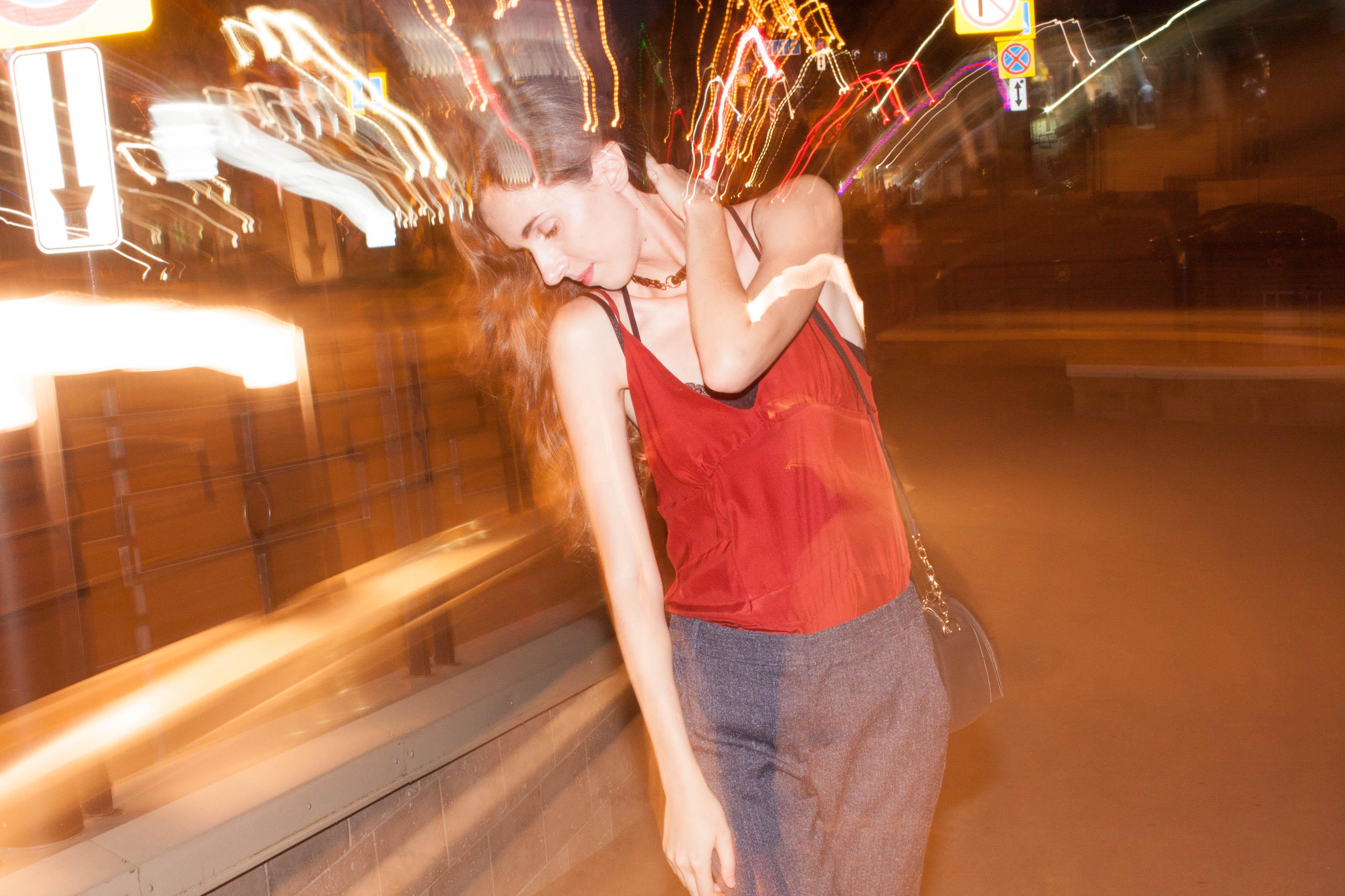 Нижнее бельё в качестве верхней одежды. День 4: Ромпер,чокер и бра. Garterblog.ru