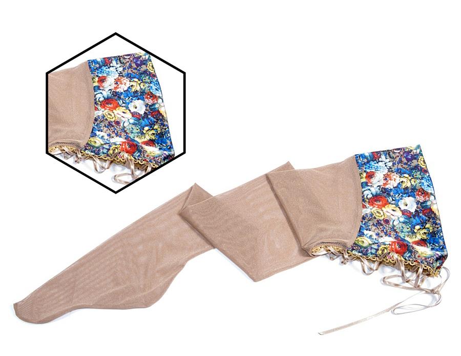 [Вещь недели] Чулки с цветочным рантом и шнуровкой V.I.P.A