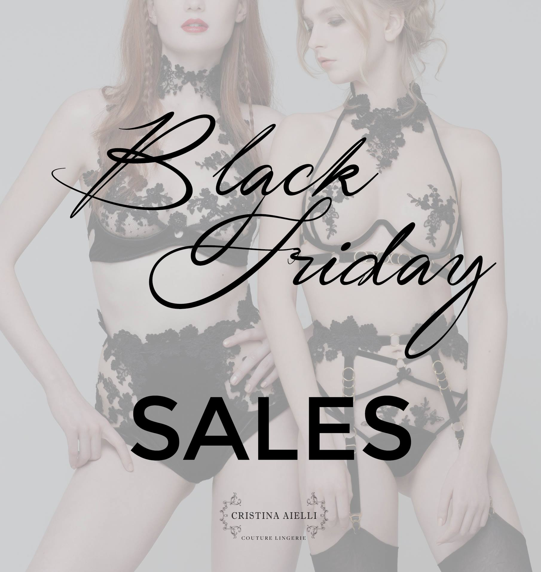 Cristina Aielli Black Friday 2016 sale