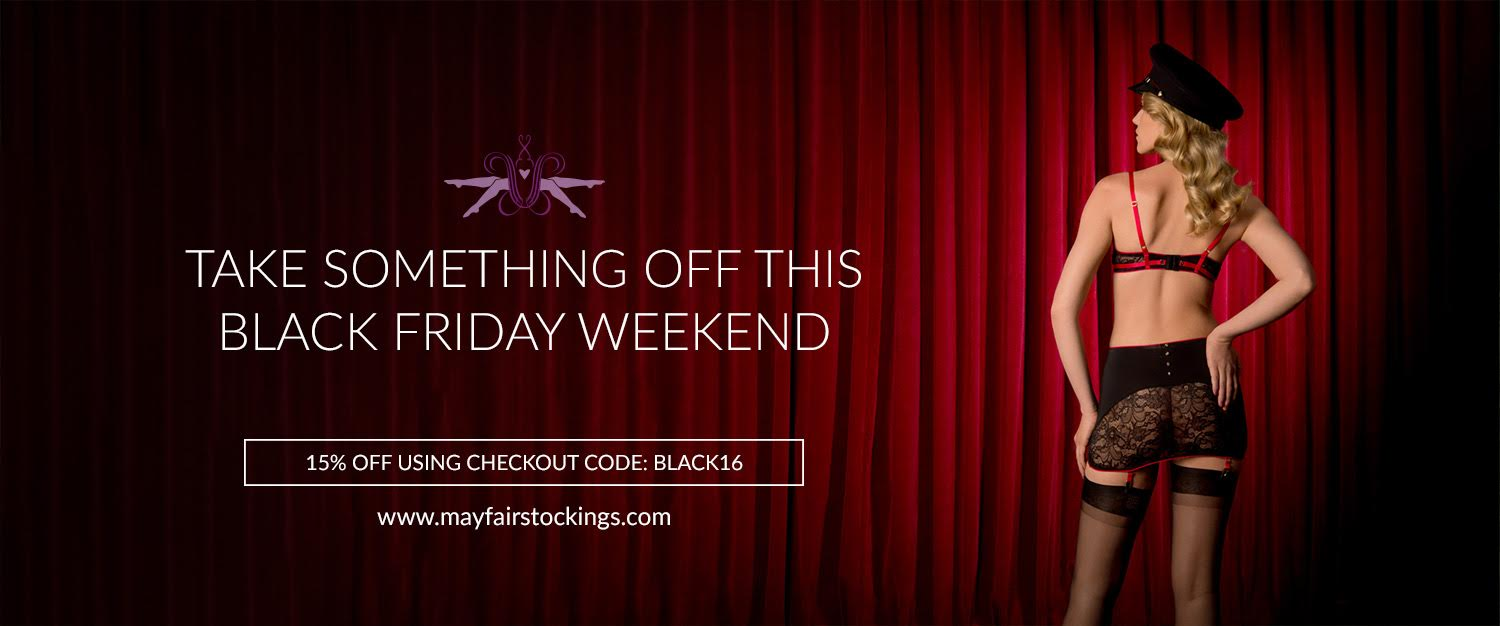 MayfairStockings 2016 Black Friday Sale
