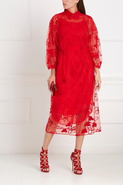 SIMONE ROCHA Двухслойное платье 99 540 Р142 200 Р (-30%)