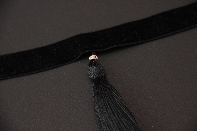 Обзор бархатного чокера с кисточкой LingerieMe