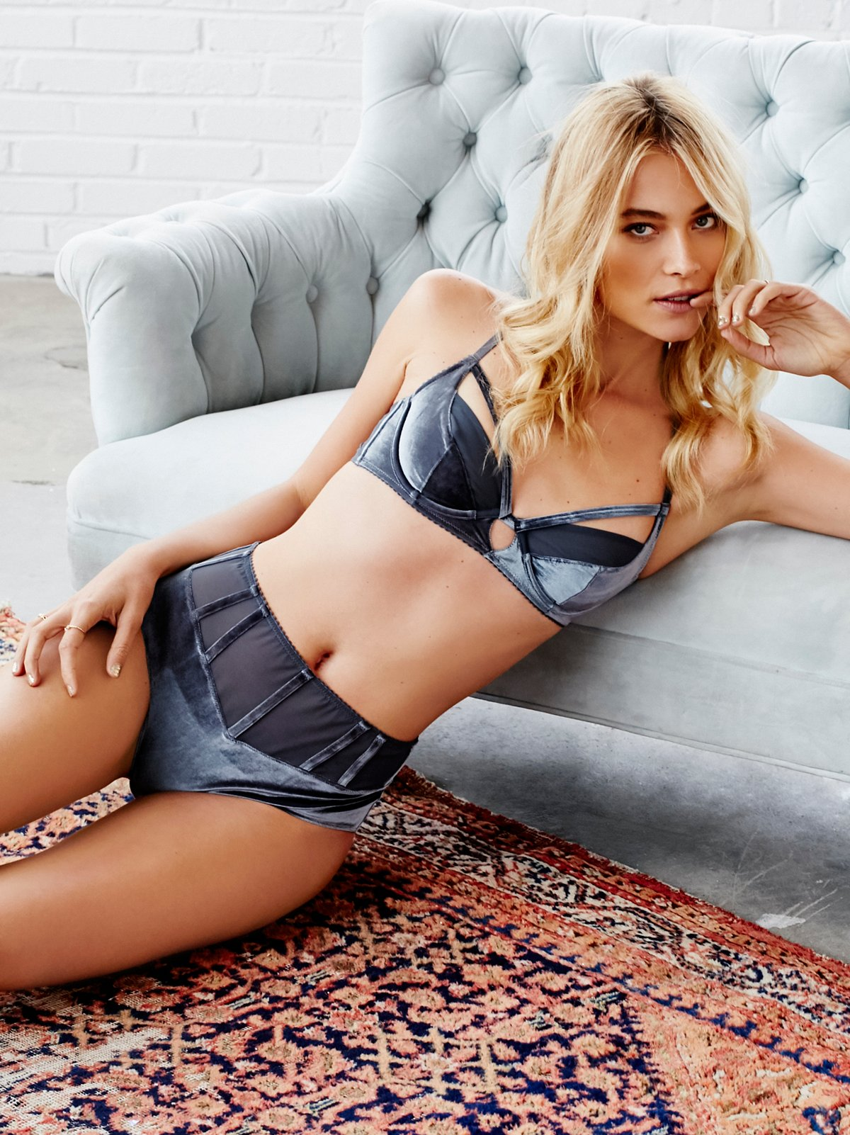 Free People Pillow Talk Hi Rise Undie $19.95 was $30.00