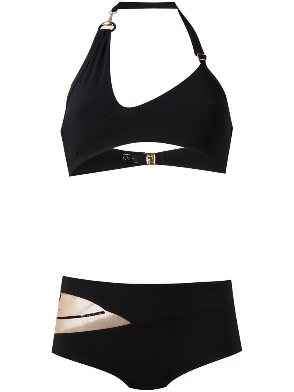 Черный купальник 'Nikita' от Tatu Couture, 21 261 руб.
