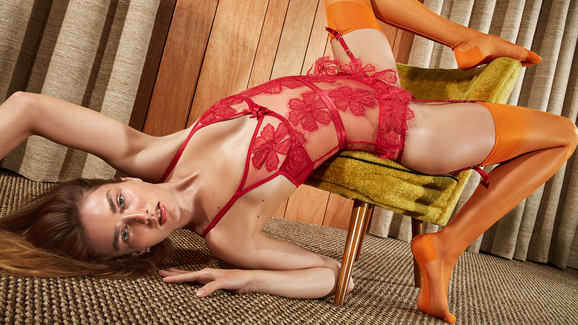 Agent Provocateur lookbook ss 2017, Seraphina
