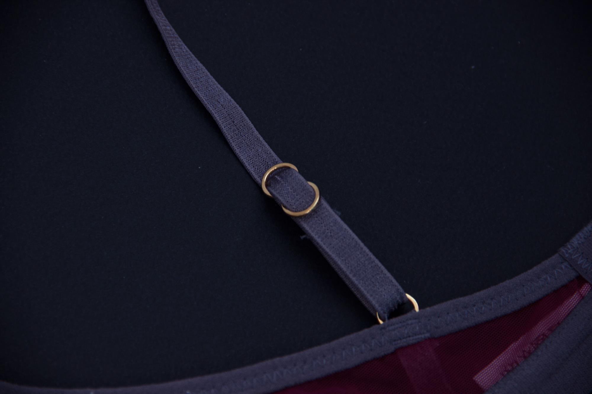 Обзор комплекта нижнего белья Dora Larsen в журнале GB {Garterblog.ru}