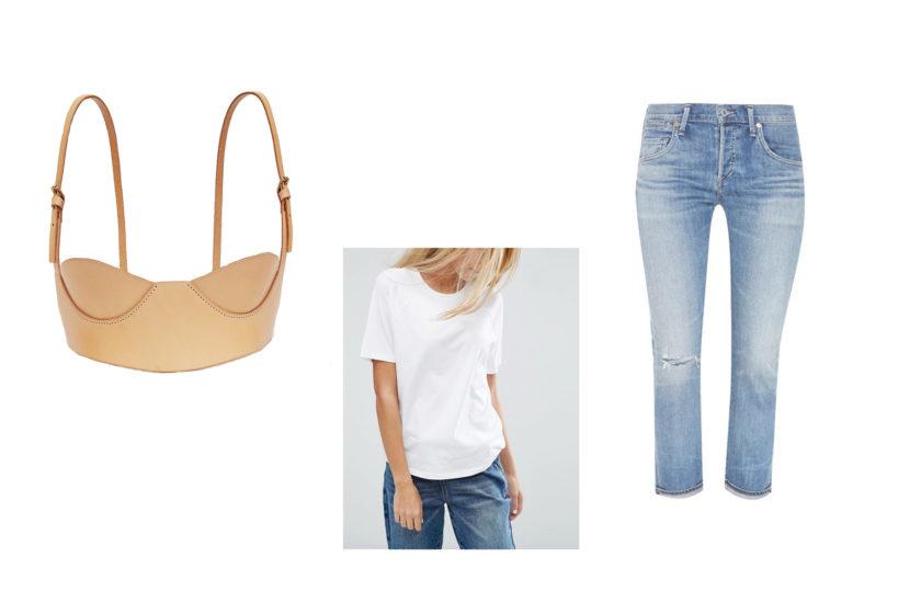 Bra Out: Весна, слои, нижнее бельё. 3 примера, как использовать бюстгальтер в качестве верхней одежды