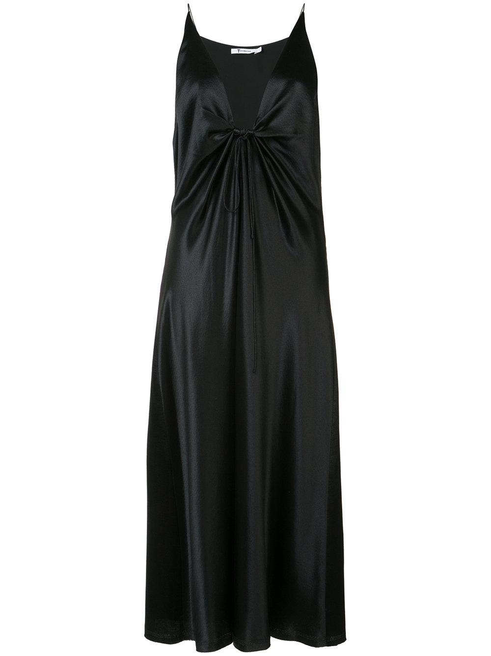 T BY ALEXANDER WANG strappy plunge dress, 32089₽ (-10% на первый заказ | f10off)