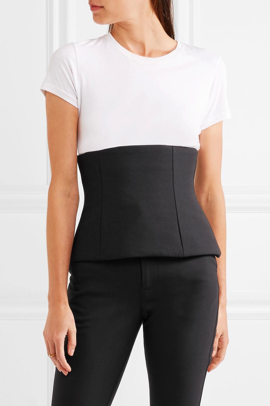 GEORGIA ALICE Twill corset, £275