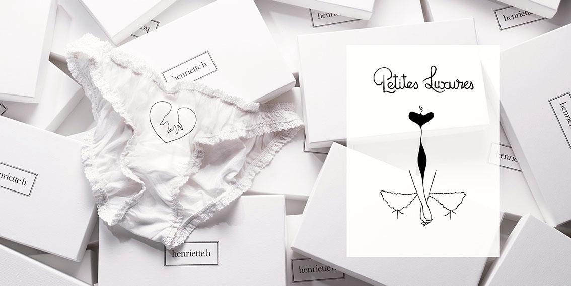Иллюстратор Petites Luxures и бренд Henriette сделали совместный проект выпустив ограниченную серию трусиков с эротической вышивкой