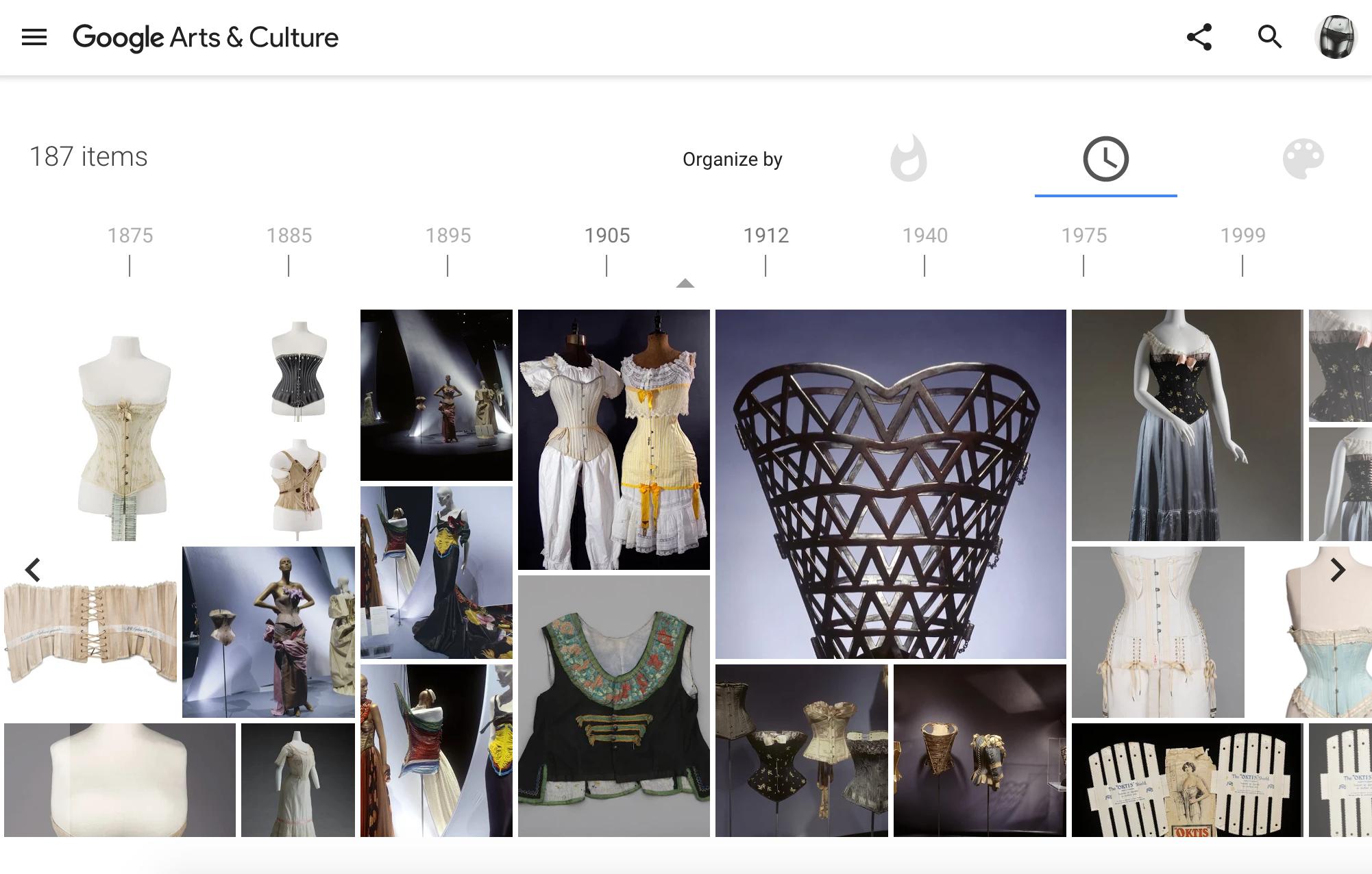 История нижнего белья и модных трендов в онлайн-музее Google Arts & Culture