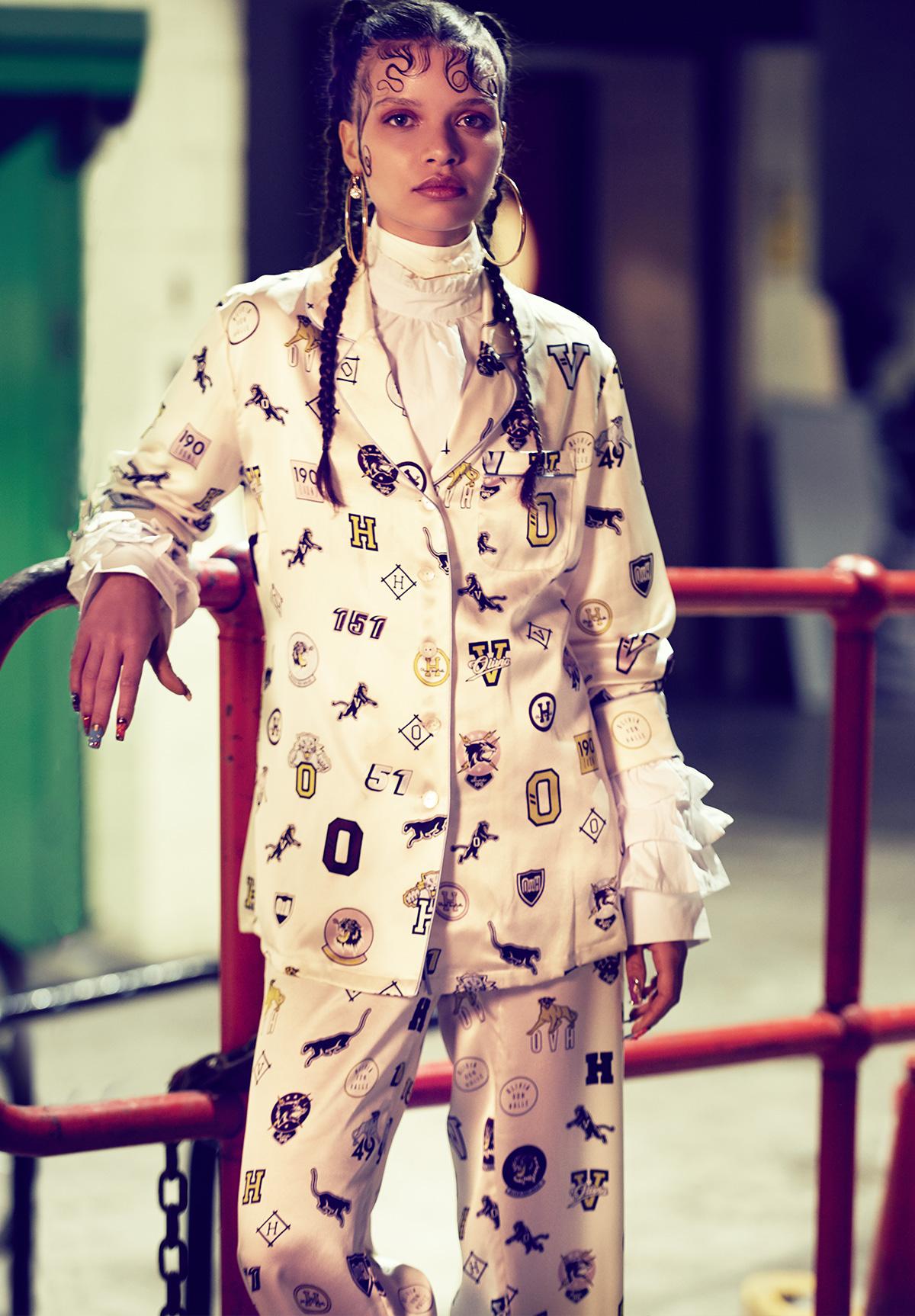 Новая коллекция шёлковой будуарной одежды и пижам Olivia Von Halle Kensal