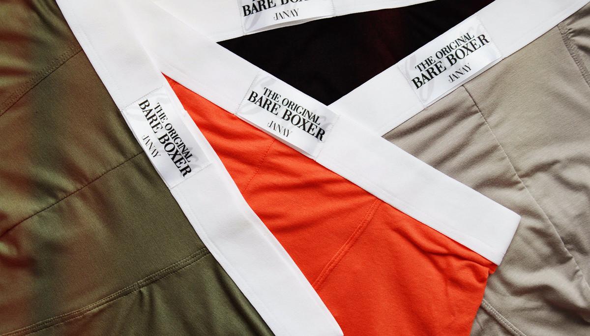 Janay представила коллекцию нижнего белья для мужчин
